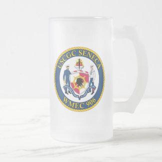 USCGC Seneca WMEC-906 Frosted Glass Mug