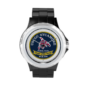 USCGC Sycamore WLB-209 Wrist Watches
