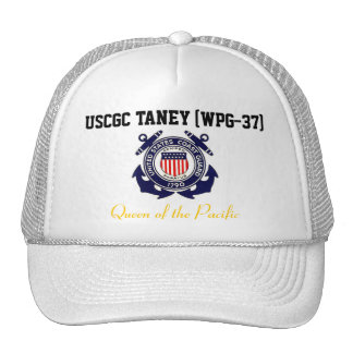 "USCGC TANEY (WPG-37) ""Queen of the Pacific"" Cap"