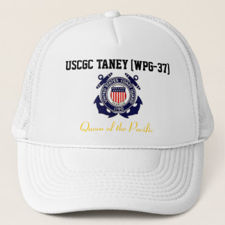 "USCGC TANEY (WPG-37) ""Queen of the Pacific"" Trucker Hat"