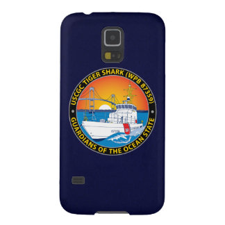 """USCGC Tiger Shark WPB-87359 """"Navy Blue"""" Cases For Galaxy S5"""