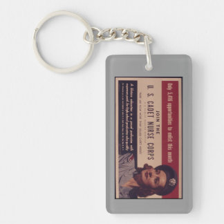 USCNC Recruitment Poster Keychain