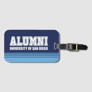 USD | Alumni - Stripes Luggage Tag