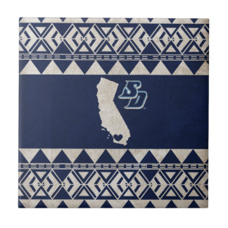USD | California Tribal Pattern Tile