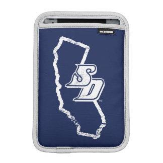 USD | Vintage California State Logo iPad Mini Sleeve