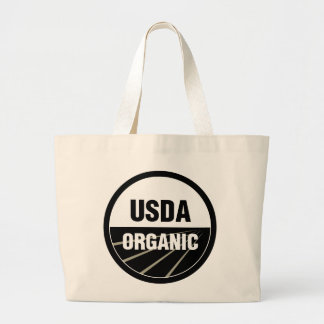 USDA Organic Large Tote Bag