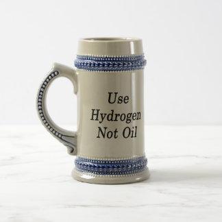 Use Hydrogen Not Oil Mug