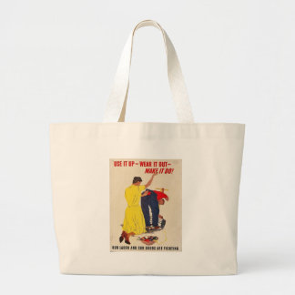 Use It Up World War 2 Canvas Bag