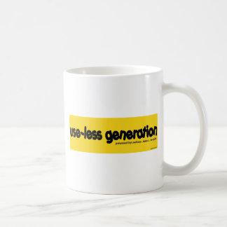 use-less generation coffee mugs