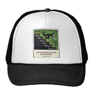 Use Overhead Racks Or Troughs Hat