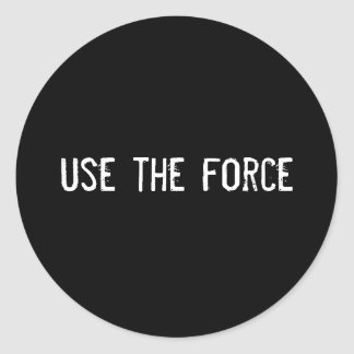 use the force stickers