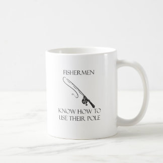 Use Their Pole Basic White Mug
