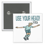 Use Your Head Pinback Buttons