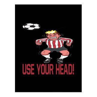 Use Your Head Postcard