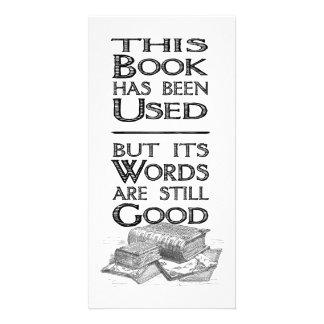 Used Book Gift 8-inch Bookmark Custom Photo Card