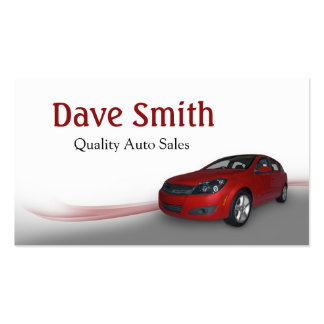 Used Car Dealer and Service Business Card Templates
