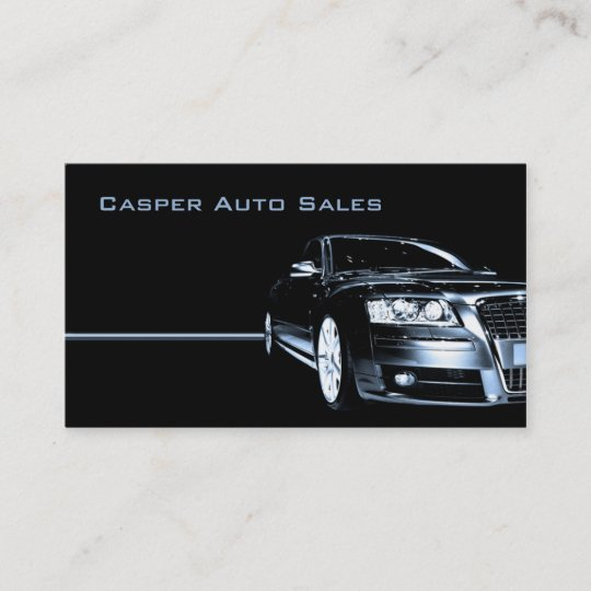 Used car dealer business card zazzle used car dealer business card reheart Image collections
