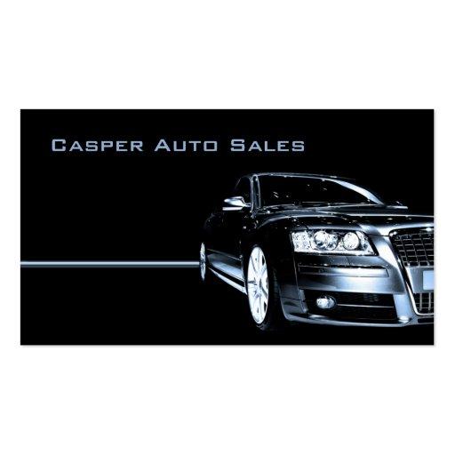 Used Car Dealer Business Card Templates