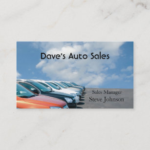 Used car dealership business cards business card printing zazzle uk used car dealer business card reheart Image collections