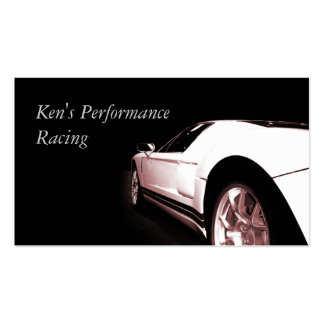 Used Car Dealer Business Card Template