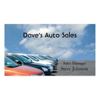Used Car Dealer Business Cards