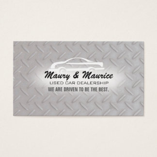 Used Car Dealership Business Cards