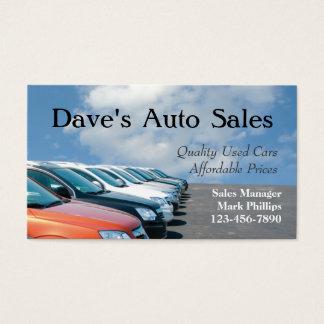 Car dealer business card   SPARK media  Car Sales Business Cards