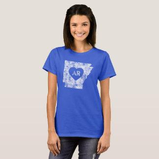 Used I Love Arkansas State Women's Basic T-Shirt