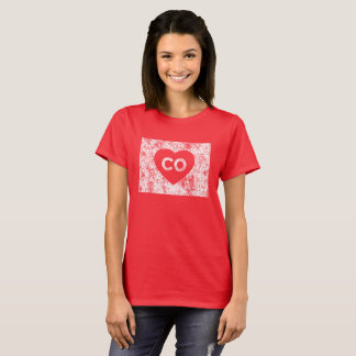 Used I Love Colorado State Women's T-Shirt