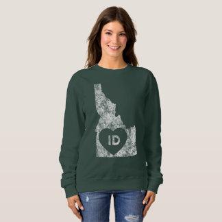 Used I Love Idaho State Women's Basic Sweatshirt