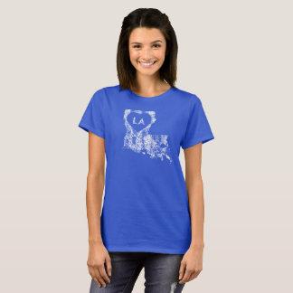 Used I Love Louisiana State Women's Basic T-Shirt