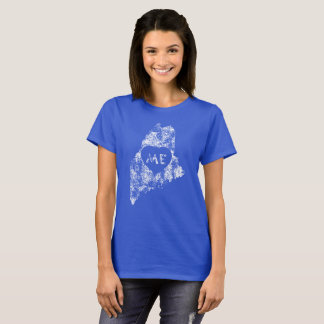 Used I Love Maine State Women's T-Shirts