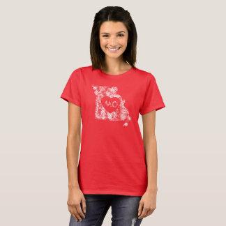 Used I Love Missouri State Women's Basic T-Shirt
