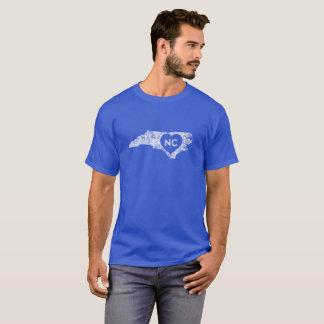 Used I Love North Carolina State Men's T-Shirt