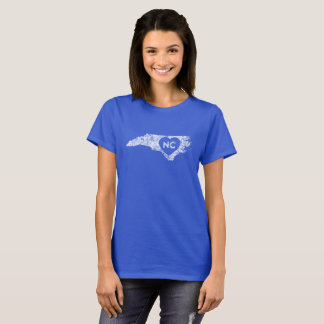 Used I Love North Carolina State Women's T-Shirt