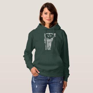 Used I Love Vermont Women's Hooded Sweatshirt