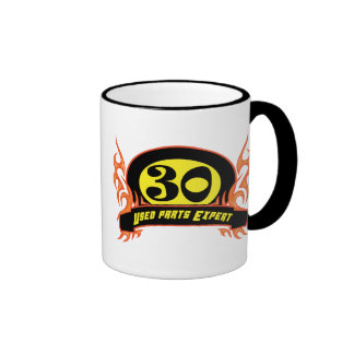 Used Parts 30th Birthday Gifts Coffee Mugs