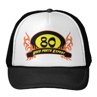 Used Parts 80th Birthday Gifts Mesh Hat