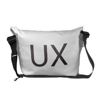User eXperience ai Courier Bags