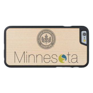 USGBC-MN Iphone 6 Case in Maple