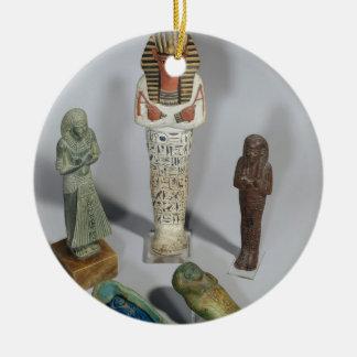 Ushabti figures christmas ornament