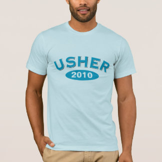 Usher Blue Arc 2010 T-Shirt