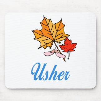 Usher - fall mouse pad