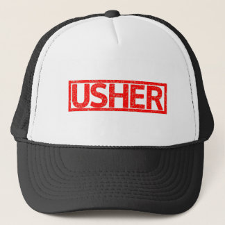 Usher Stamp Trucker Hat