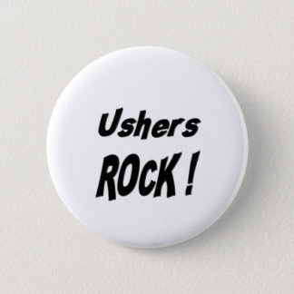 Ushers Rock! Button