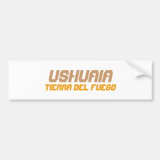 Ushuaia, Argentina. Tierra del Fuego Bumper Sticker
