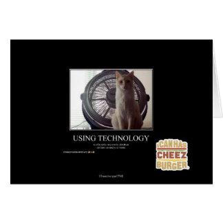 Using Technology Card