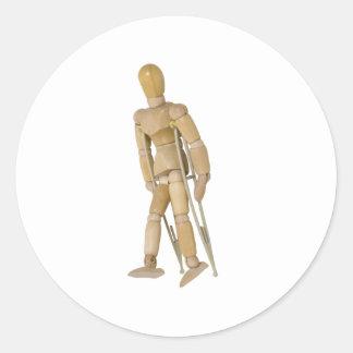 UsingCrutches013110 Stickers