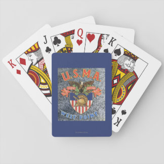 USMA West Point Seal Scene Playing Cards