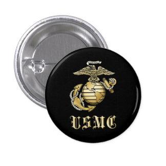 USMC 3 CM ROUND BADGE